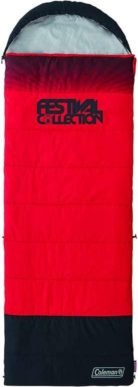 Coleman Festival Collection Single Schlafsack in rot/schwarz für 26,78€ inkl. Versand (statt 46€)