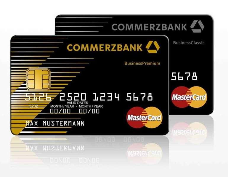 Commerzbank KlassikGeschäftskonto - 6 Monate ohne Grundpreis (statt 9,90€ mtl.) + 100€ Startguthaben