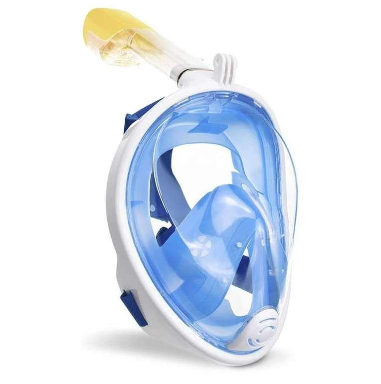 Wolketon Tauchmaske bzw. Vollgesichtsmaske (verschiedene Farben & Größen) für 12,91€ inkl. Prime Versand