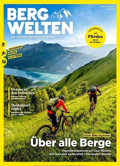 8 Ausgaben Bergwelten für 48€ + 40€ Amazon-Gutschein oder 35€ Scheck!