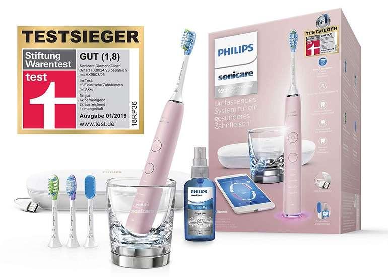 Philips HX9924/23 Sonicare DiamondClean Smart Schallzahnbürste in Pink für 187,49€ inkl. Versand