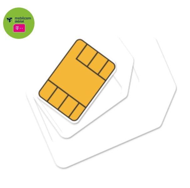 Datentarif: Mobilcom Debitel Telekom green Data XL (15GB LTE, 150 Mbit/s) für 9,99€ monatlich