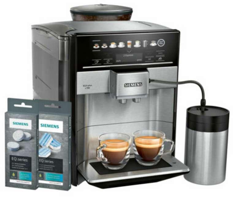 Siemens TE657M03DE Kaffeevollautomat + Reinigungsset für 749,90€ inkl. Versand (statt 797€)