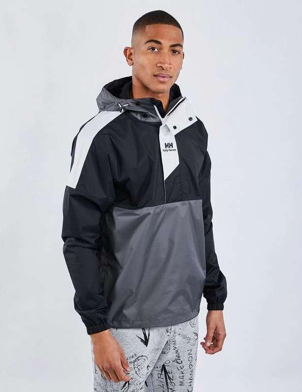 Helly Hansen Windbreaker Jacke in grau schwarz für 29,99€ inkl. Versand (statt 55€)