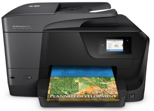 HP OfficeJet Pro 8710 - 4-in-1 Tintenstrahl-Multifunktionsgerät ab 98,90€