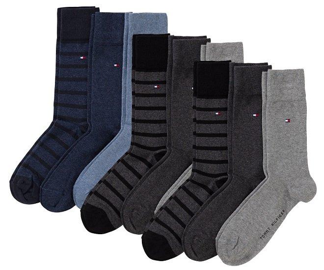 Schnell? 9er-Pack Tommy Hilfiger Socken (versch. Größen / Farben) für 23,97€ inkl. Versand (statt 40€)
