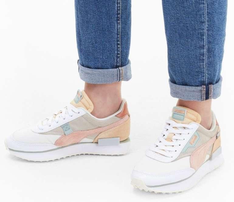 """Puma Future Rider Soft Metal Damen Sneaker im """"Marshmallow""""-Colourway für 68,39€ (statt 88€)"""