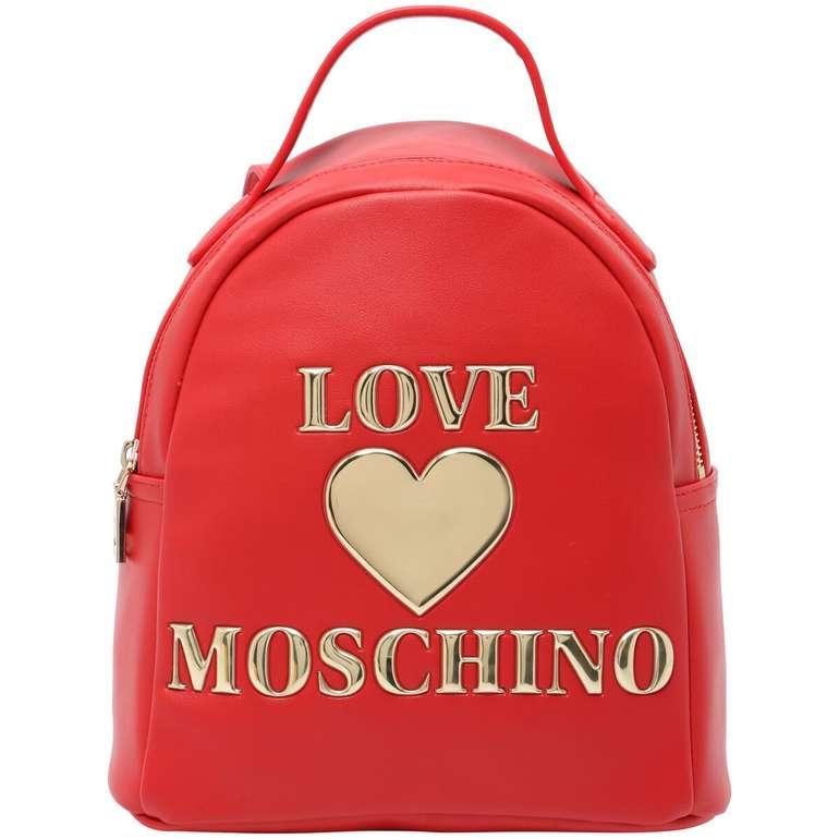 Love Moschino Damen Rucksack in Rot für 70,45€ inkl. Versand (statt 133€)