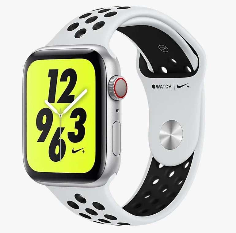 Apple Watch Series 4 Nike+  (GPS + Cellular) 44mm für 390,97€ inkl. Versand (statt 463€)