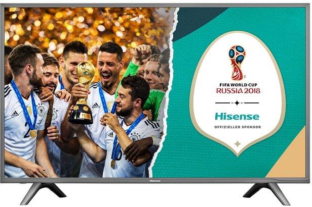 Hisense H49NEC5605 – 49″ Ultra-HD (4k) Smart-TV mit Triple Tuner für 332,99€