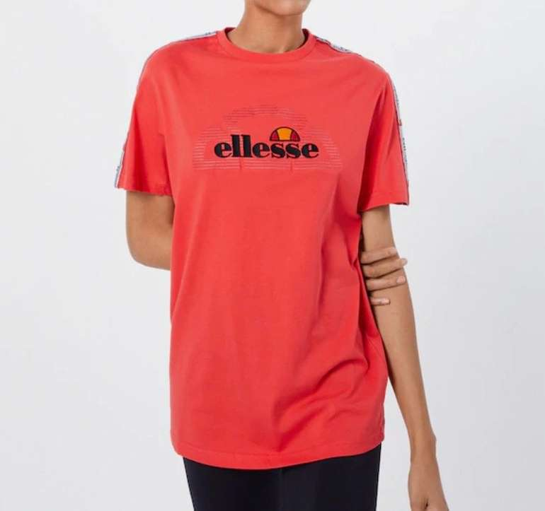 Ellesse Damen Shirt 'Antalya' in rot für 11,21€ inkl. Versand (statt 33€)