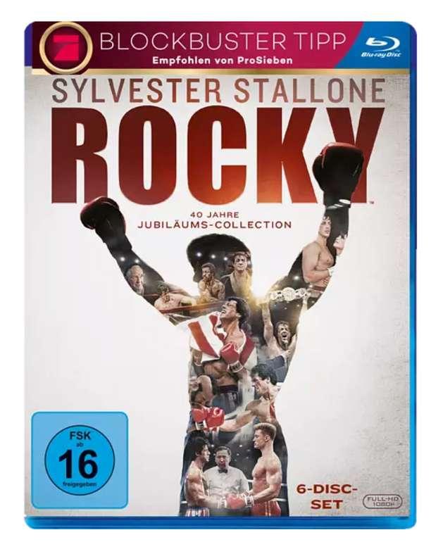 Rocky Complete Saga 1-6 Blu-ray für 19,78€ inkl. Versand (statt 25€)
