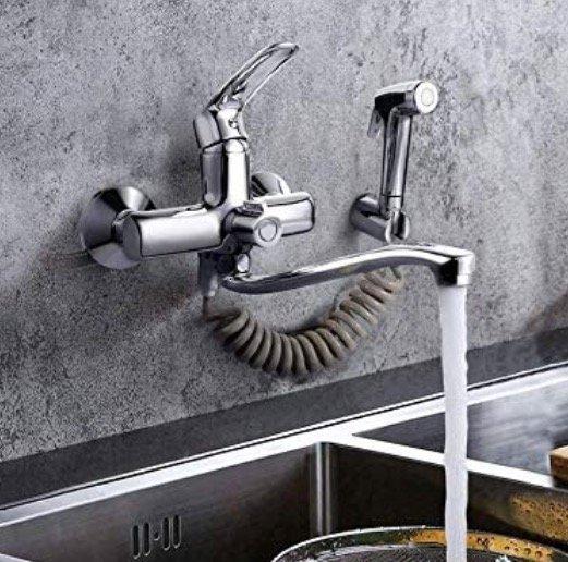 Dalmo Wasserhahn mit Spritzpistole für 42,74€ inkl. Versand (statt 57€)