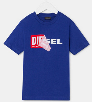 Diesel Kids Sale mit bis zu -70% Rabatt, z.B. Kinder T-Shirts ab 12,99€