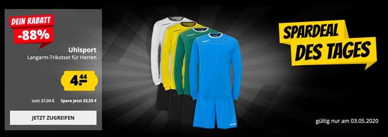 Uhlsport Langarm Fußball-Trikot mit Shorts