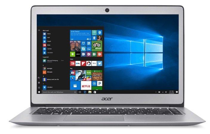 ACER Swift 3 - 14 Zoll, i7, 8 GB RAM, 512 GB SSD, HD-Grafik 520 für 699€
