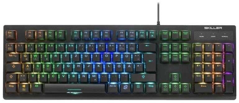 Sharkoon Skiller SGK30 Red - mechanische Gaming Tastatur für 34,99€ inkl. Versand (statt 45€)