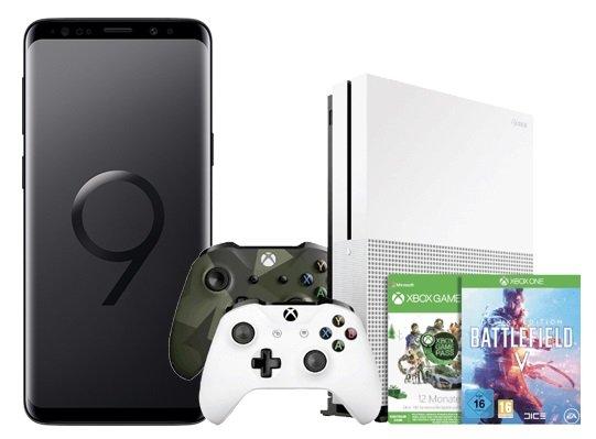 Vodafone AllNet Flat 2GB + Galaxy S9+ & Xbox One S + Game Pass + BF V zu 27€ mtl