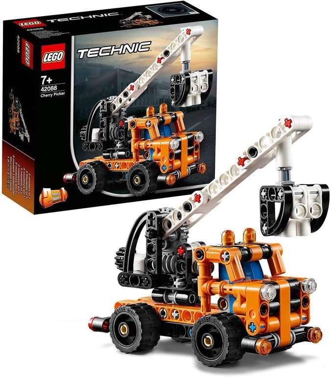 Lego Technic - Hubarbeitsbühne (42088) für 6,95€ inkl. Versand (statt 11€) - Thalia Club