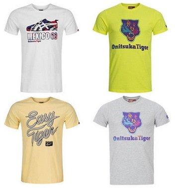 ASICS - Onitsuka Herren T-Shirts für je nur 14,99€ inklusive Versand