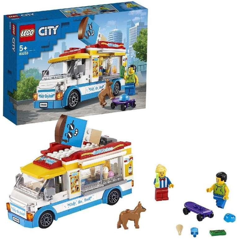Lego Eiswagen City (60253) mit Skater- und Hundefigur für 14,23€ inkl. Versand - Thalia Club!
