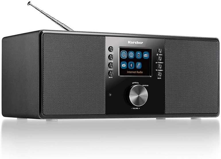 Karcher DAB 7000i Internetradio DAB+ in Schwarz für 89,99€ inkl. Versand (statt 110€)