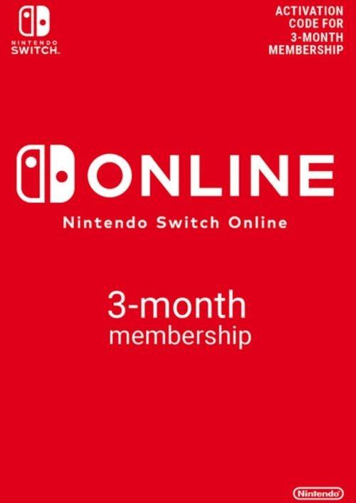 Nintendo Switch Online 3 Monate (90 Tage) für 3,34€ (statt 4€)
