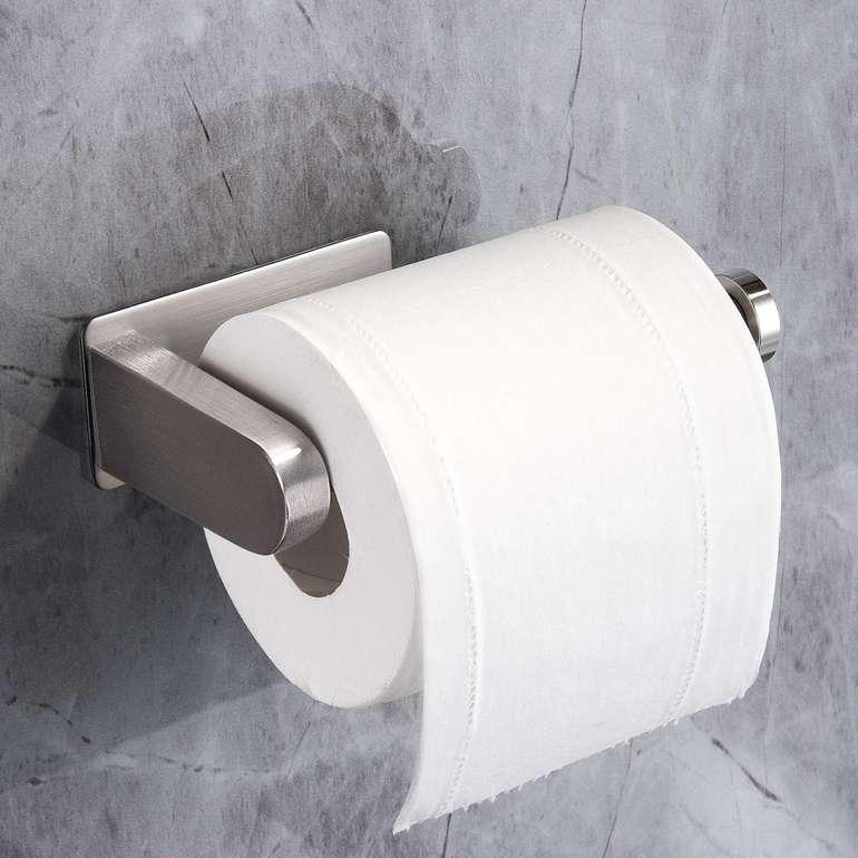 Yigii selbstklebender Edelstahl Toilettenpapierhalter für 5,98€ inkl. Prime Versand (statt 10€)