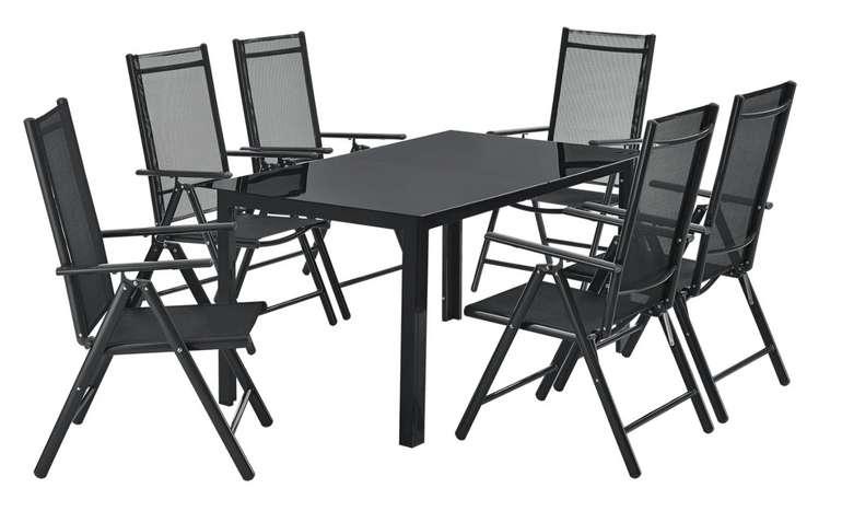 Juskys Aluminium Gartengarnitur Milano Gartenmöbel Set für 309,95€ inkl. Versand (statt 380€)