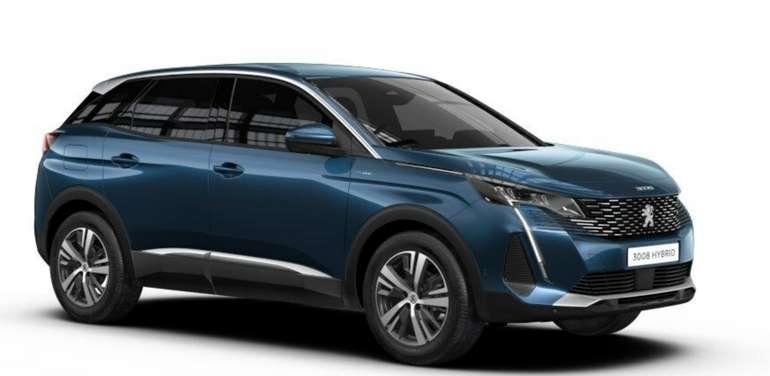 Gewerbeleasing: Peugeot 3008 mit 225 PS für 91,60€ netto mtl. (BAFA, LF: 0.24, Überführung: 917€)