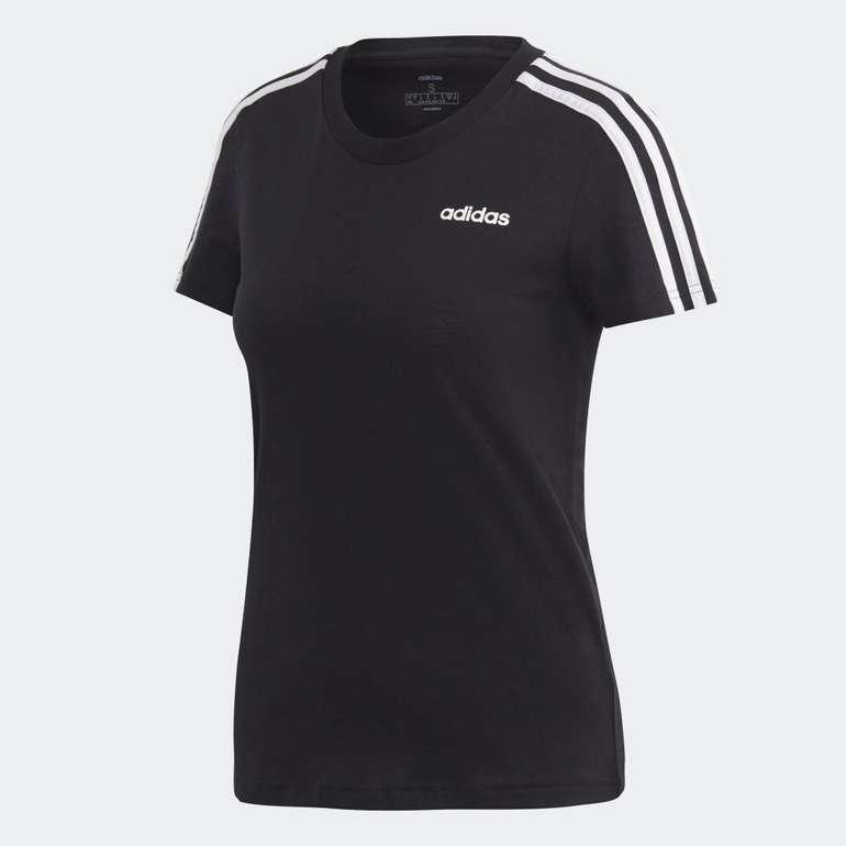 Adidas Essentials 3-Streifen Damen T-Shirt für 11,66€ (statt 16€) - Creators Club