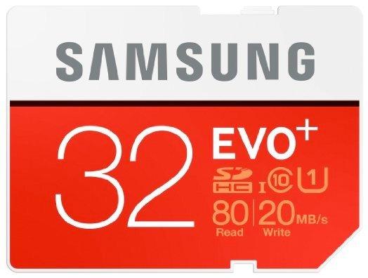 Samsung 32GB Evo Plus SDHC für 7,98€ inkl. Versand