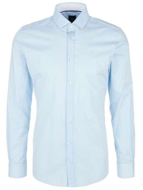 2er Pack s.Oliver Black Label Businesshemden in Hellblau für 49,99€ inkl. Versand (statt 80€)