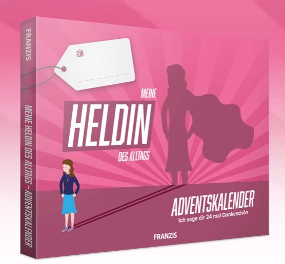 Franzis: Meine Heldin des Alltags – Adventskalender 2020 für 4,95€ inkl. Versand (statt 15€)