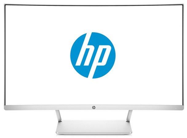 HP 27 Curved Monitor mit Full HD Auflösung, FreeSync, VA Panel für 174,99€