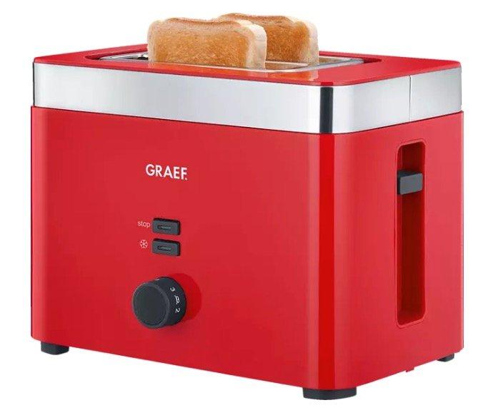 Graef TO63, 2-Scheiben Toaster mit 888 Watt für 31,90€ (statt 37€) - Abholung!