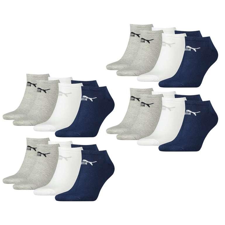 12er Pack Puma Unisex Sneaker Clyde Sport Socken für 20,99€ inkl. Versand (statt 28€)