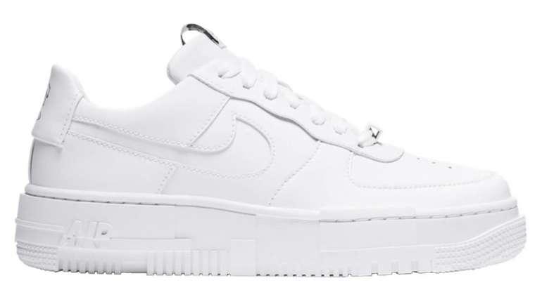 Nike Air Force 1 Pixel Damen Sneaker in Weiss F100 für 98,95€inkl. Versand (statt 110€)