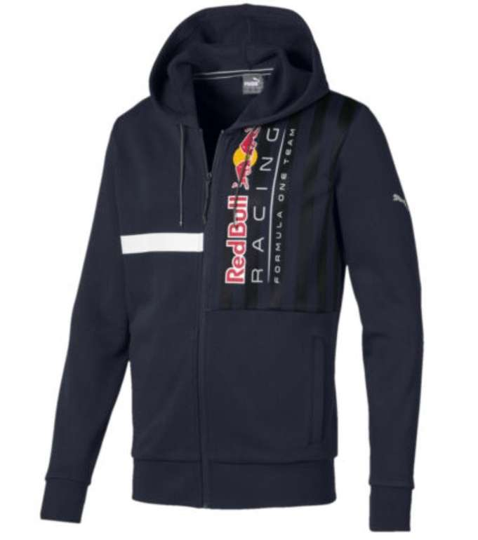 Puma Red Bull Racing Herren Kapuzen-Sweatjacke für 39,96€ inkl. Versand (statt 53€)