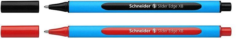 10er Pack Schneider Kugelschreiber Slider Edge in Blau oder Rot ab 1,25€ inkl. Versand