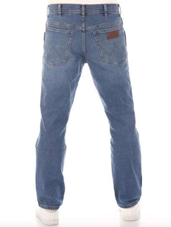 Wrangler Texas Contrast Straight Herren Jeanshose (99% Baumwolle) für 49,95€ inkl. Versand (statt 68€)