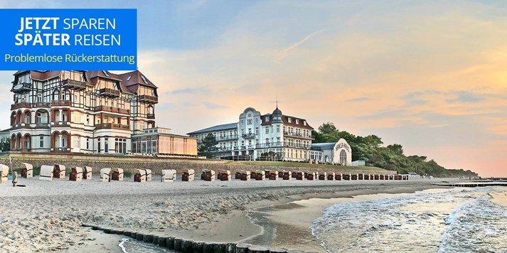 Ostsee: 3 Tage in einer Villa am Strand & Menü Ostseebad Kühlungsborn ab 129 € pro Person (Oktober-Dezember)