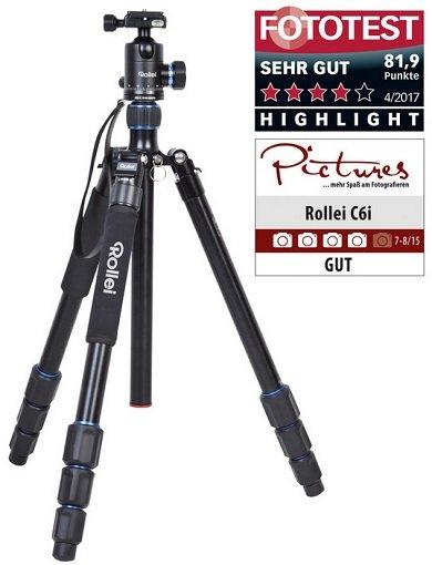Rollei Kamera-Stativ C6i für 66,69€ inkl. Versand (statt 99€)