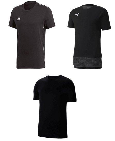 Casual Shirt Set - 3er Pack (adidas, Nike Puma) für 37,95€ (statt 45€)