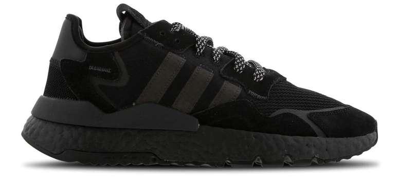 Adidas Nite Jogger Boost Herren Sneaker in Triple Black für 69,99€ (statt 100€)
