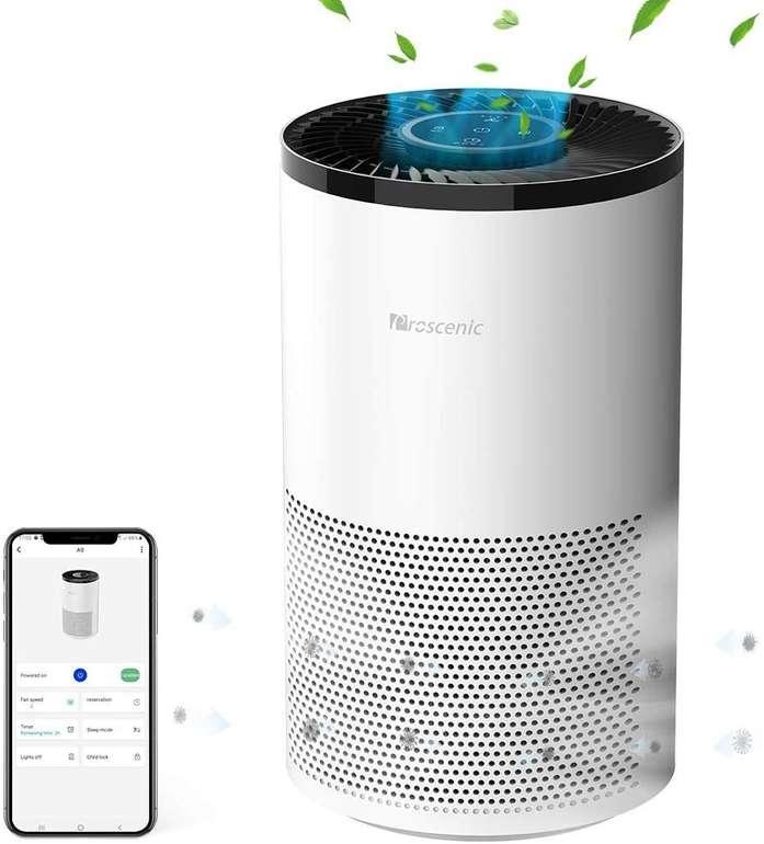Prosenic A8 Luftreiniger (App, 4 Modi, 220m³/h) für 77,40€ inkl. Versand (statt 96€)