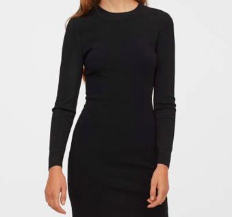 Nur heute: 20% Rabatt auf alle Kleider bei H&M, z.B. Figurnahes Kleid für 39,99€