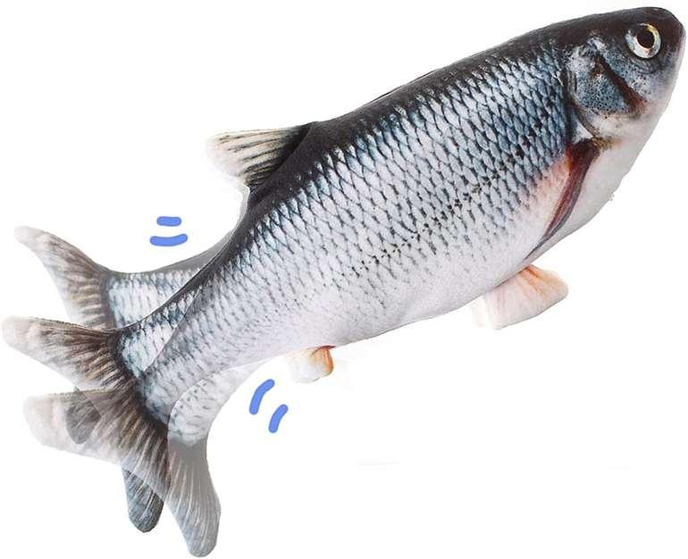 """Liumy elektronisches Katzenspielzeug """"Fisch"""" für 7,14€ inkl. Prime Versand (statt 11€)"""