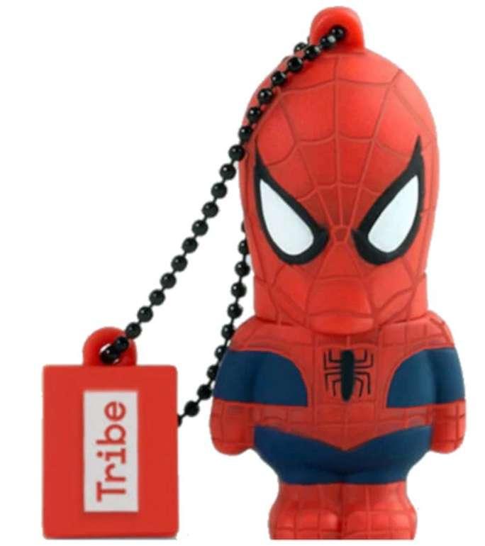 Medion Marvel Avengers Spider-Man USB-Stick mit 16GB Speicher (USB 2.0, handbearbeitet) für 4,95€