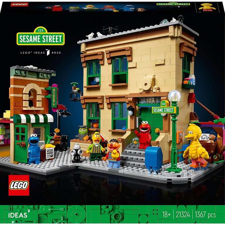 Lego Ideas - 123 Sesamstraße (21324) für 102,94€ inkl. Versand (statt 112€)